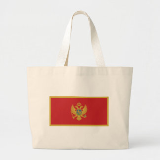 Flagga av Montenegro Jumbo Tygkasse