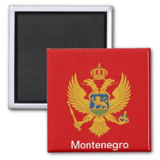 Flagga av Montenegro Magnet