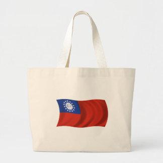 Flagga av Myanmar Tygkasse