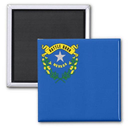 Flagga av Nevada Kylskåpsnagnet