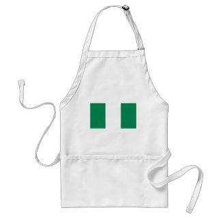 Flagga av Nigeria Förkläde