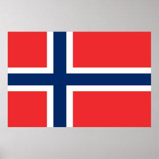 Flagga av norgen