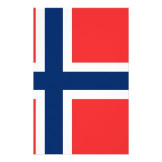 Flagga av norgen - Norges flagg - Det Brevpapper