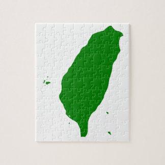 Flagga av oberoende Taiwan - 臺灣獨立運動 - 台灣獨立運動 Pussel