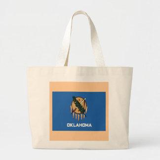 Flagga av Oklahoma Tote Bag