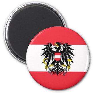 Flagga av Österrike - Flagge Österreichs Magnet