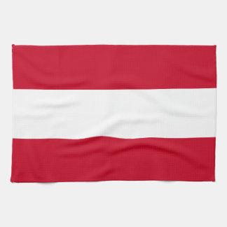 Flagga av Österrike Kökshandduk