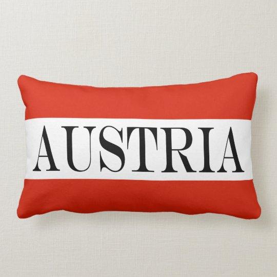 Flagga av Österrike Lumbarkudde