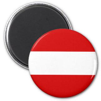 Flagga av Österrike Magnet