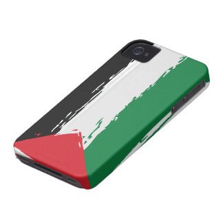 Flagga av Palestina - konst Case-Mate iPhone 4 Skal