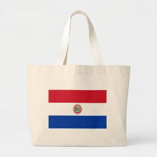 Flagga av Paraguay Tygkassar