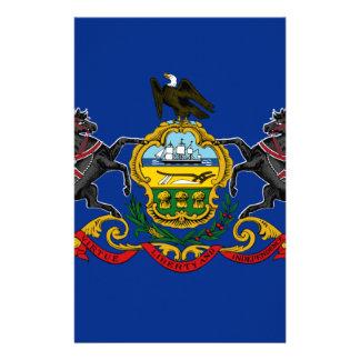 Flagga AV Pennsylvania Brevpapper