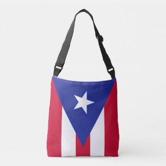 Flagga av Puerto Rico - Bandera de Puerto Rico Axelväska