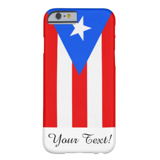 Flagga av Puerto Rico Barely There iPhone 6 Skal