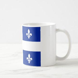 Flagga av Quebec Kaffemugg
