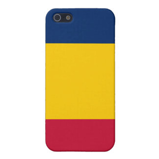 Flagga av Republiken Tchad iPhone 5 Skydd