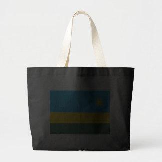 Flagga av Rwanda Tote Bags
