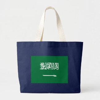 Flagga av Saudiarabien Jumbo Tygkasse
