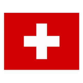 Flagga av Schweitz Vykort