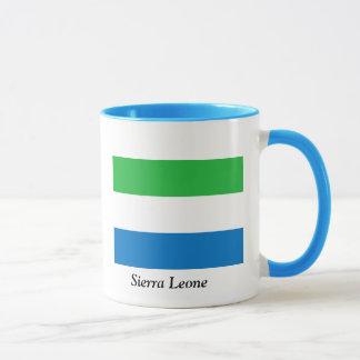 Flagga av Sierra Leone Mugg