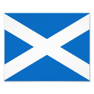 Flagga av Skottland Fototryck