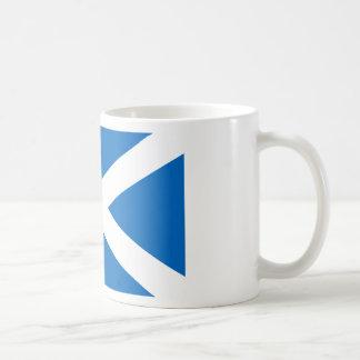 Flagga av Skottland - skotsk flagga Kaffemugg