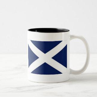 flagga-av-Skottland Två-Tonad Mugg