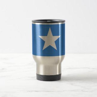 Flagga av Somalia reser/pendlaremuggen Rostfritt Stål Resemugg