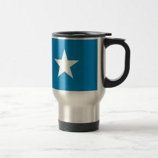 Flagga av Somalia Rostfritt Stål Resemugg