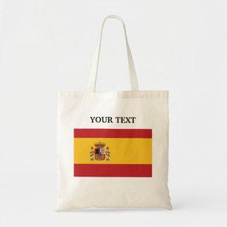 Flagga av Spanien Budget Tygkasse