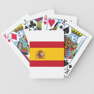 Flagga av Spanien Spelkort