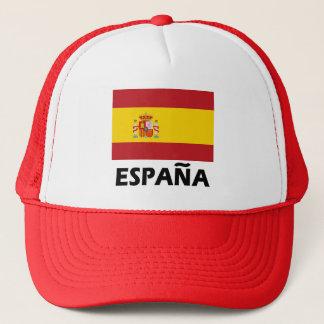 Flagga av Spanien Truckerkeps