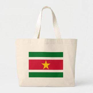 Flagga av Surinam Tote Bag
