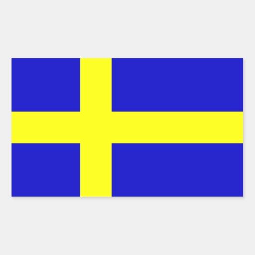 Flagga av sverigen klistermärken