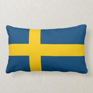 Flagga av sverigen dekorativ kudde