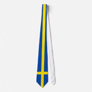 Flagga av sverigen slips