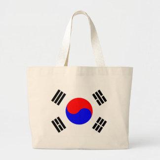 Flagga av Sydkorea Jumbo Tygkasse
