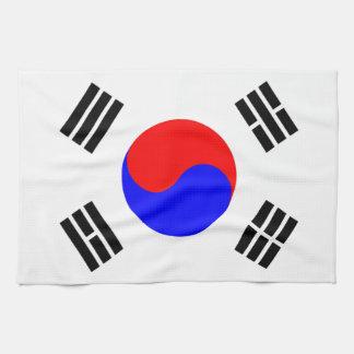 Flagga av Sydkorea Kökshandduk