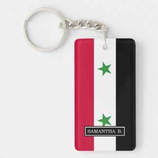 Flagga av Syrien