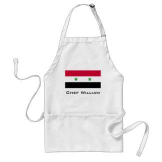 Flagga av Syrien Förkläde