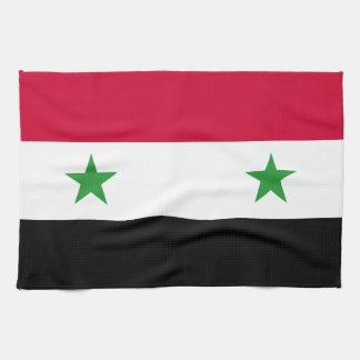 Flagga av Syrien Handhandukar