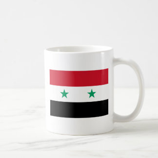 Flagga av Syrien Kaffemugg