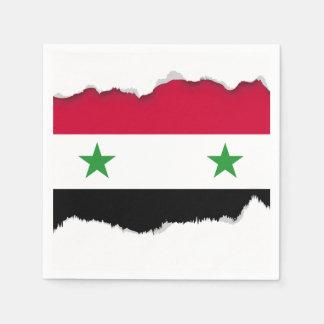 Flagga av Syrien Pappersservett