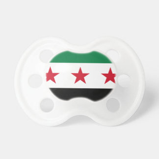 Flagga av Syrien - syriansk självständighetflagga Napp