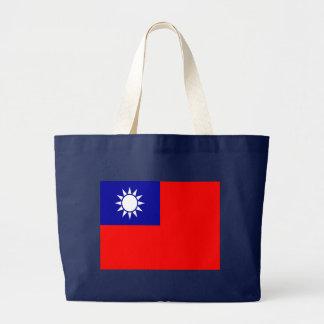 Flagga av Taiwan Jumbo Tygkasse