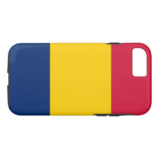 Flagga av Tchad
