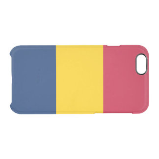 Flagga av Tchad den klara iphone case Clear iPhone 6/6S Skal