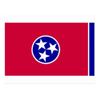 Flagga av Tennessee Vykort