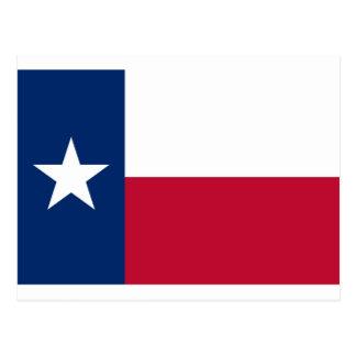 Flagga av Texas Vykort