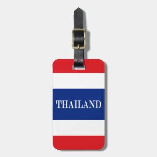 Flagga av Thailand Bagagebricka